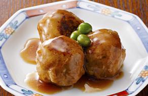 プラチナポークの肉団子
