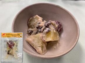 さつま芋の大豆マヨネーズ和え