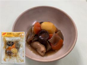 菜彩鶏と栗入り筑前煮