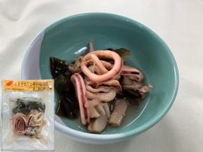 イカとエリンギの塩麹煮