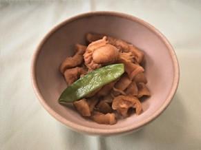 割干大根と帆立の生姜煮