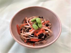 根菜とひじきのサラダ