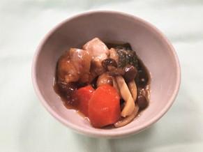 鶏肉とオクラのとろみ煮